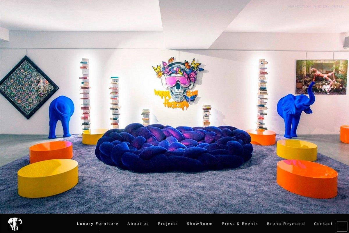 la maison de l 39 elephant ibiza social agency. Black Bedroom Furniture Sets. Home Design Ideas